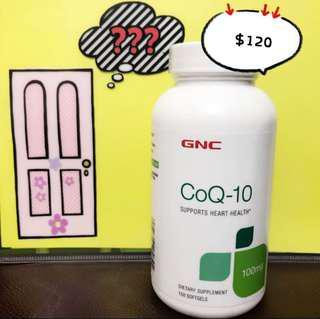GNC 輔酶 CoQ-10 (150粒) coq10 抗氧化強化心肌