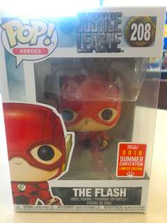 Flash SDCC funko pop 2018 summer convention limited edition