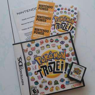 Pokémon Trozei nintendo ds