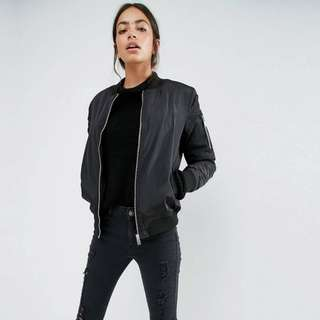 Padded Bomber - New Look