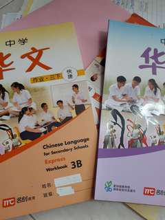 CHINESE WORKBOOK 3B and 4A