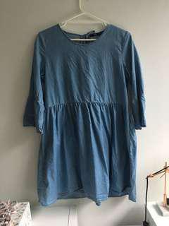 Sportsgirl denim look dress