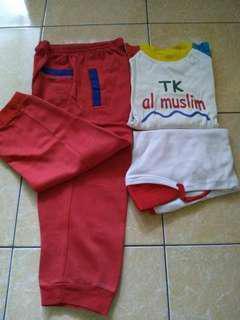 Set baju olahraga