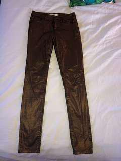 Shiny jeans