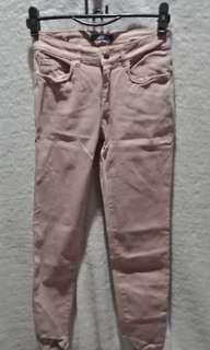 ZARA Rosegold Denim Jeans