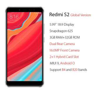 Redmi S2 32GB Gold brand new