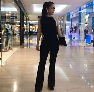 Jump suit black pesta