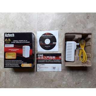 Powerline Networking - HomePlug 200Mbps AV 2-Port 300Mbps Wireless-N Extender
