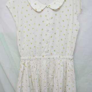 Dress Vintage flower print