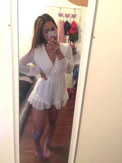 Size 10 | BNWT white flowy jumpsuit