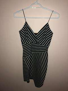 Striped Dress // Size S-M