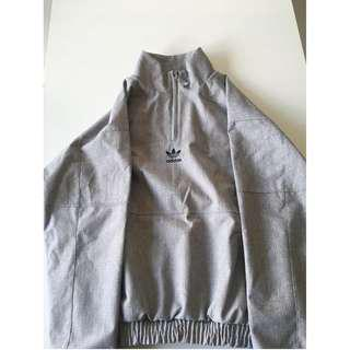 adidas half-zip jacket - size S (fits more like S-M)