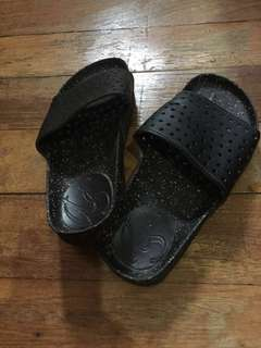 Black Slippers (size 6)