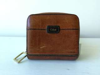 CHLOE Leather Wallet 真皮女裝銀包