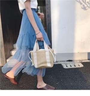 🚚 [INSTOCK] Korean Lace A line Skirt