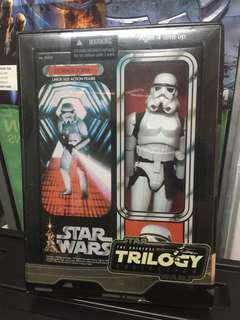 Star Wars 2005 12 inch Stormtrooper Original Trilogy Box Rare Hard to Find