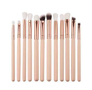 [READYSTOCK & POSTAGE INCLUDED] 12 Eye Brushes