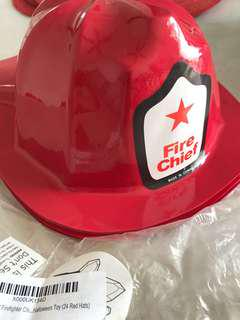🚚 14 Brand new firefighter party helmets/hats