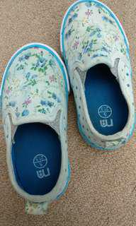 Slip On Shoes Canvas Floral Kids