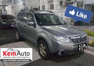 Spacious Sporty SUV SUBARU FORESTER 2.0X AWD 4AT D/AIRBAGS