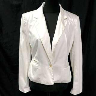 White Classic Blazer