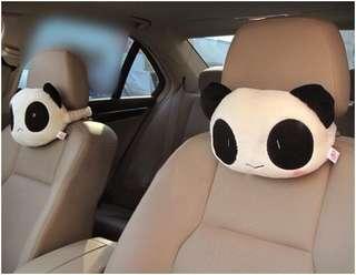 Panda Car Neck Pillow