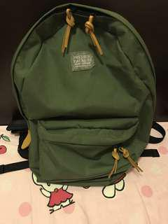 Fredrik packers green backpack