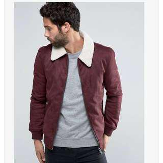 (PRICE DOWN) River Island Harrington Suede Jacket coat