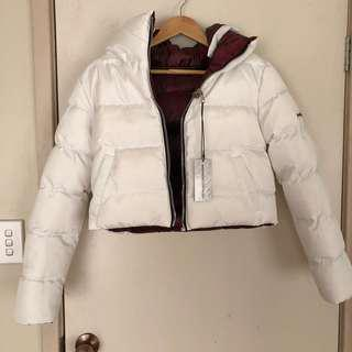Reversible Puffer Jacket White