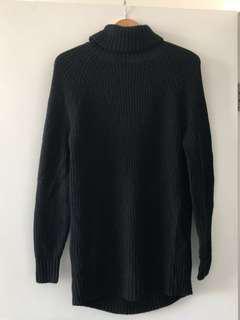 H&M Black Knit Dress