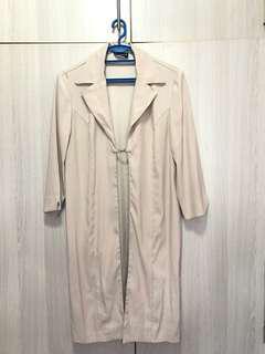 Nude Lightweight Coat
