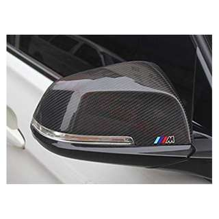 New BMW side mirror M Performance Sports black carbon fibre CF replacement cover