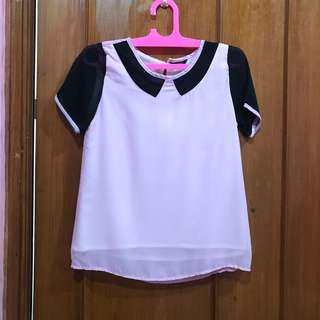 Pink ribbon top