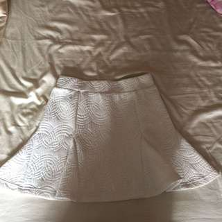 MDS Textured Mermaid Skirt In M