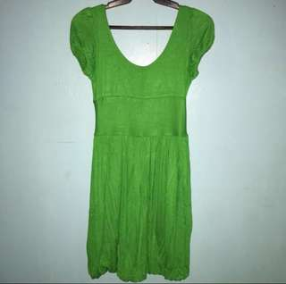 [2 for 250]TwentyOne Green Bubble Dress