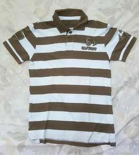 Kaos Kerah - Polo Shirt Garis-Garis