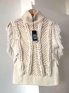 Sass & Bide Tassle Sleeveless Knit