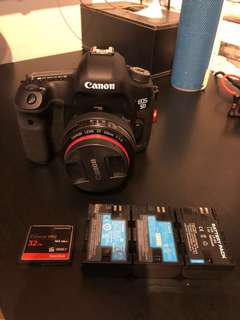 Canon 5D Mark III with Canon EF 50mm F1.4 Lens