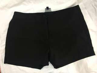 Black Semi Formal Shorts