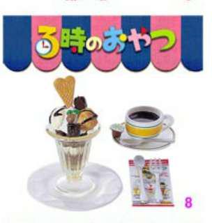 Re-ment 食玩 盒玩 3時下午茶 雪糕新地模型
