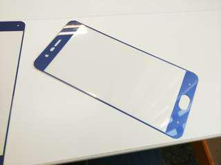 小米Note3 孤邊鋼化玻璃貼-藍色 兩張