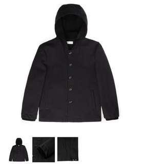 Benjamin Barker Black Parka Jacket
