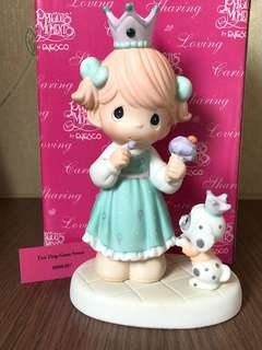 "MIB Precious Moments figurine ""Too Dog-Gone Sweet"""