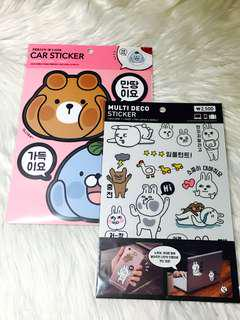 Artbox Korean Stickers (Car, Laptop, Luggage)