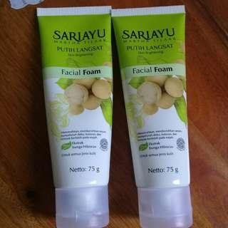 Sariayu facial foam (take all)