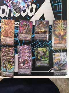 Tachikaze, Spike Brothers Cardfight Vanguard Cards