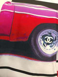 Chanel 大絲巾 scarf
