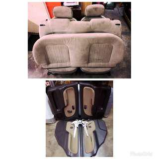 Seat + Door Trim L7
