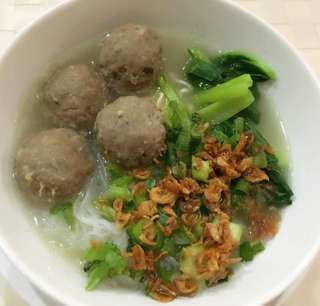 Made to order bakso indon