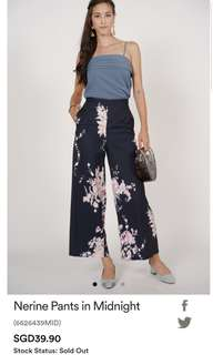 MDS Nerine Pants in Midnight